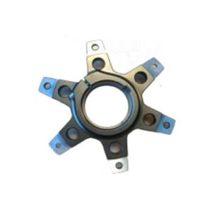 SPROCKET SUPPORT FOR Ø50MM AXLE TITAN GOLD ANODIZED