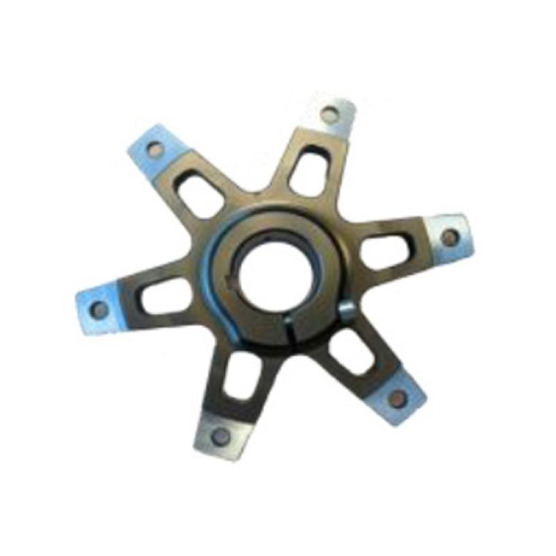 SPROCKET SUPPORT FOR Ø30MM AXLE TITAN GOLD ANODIZED