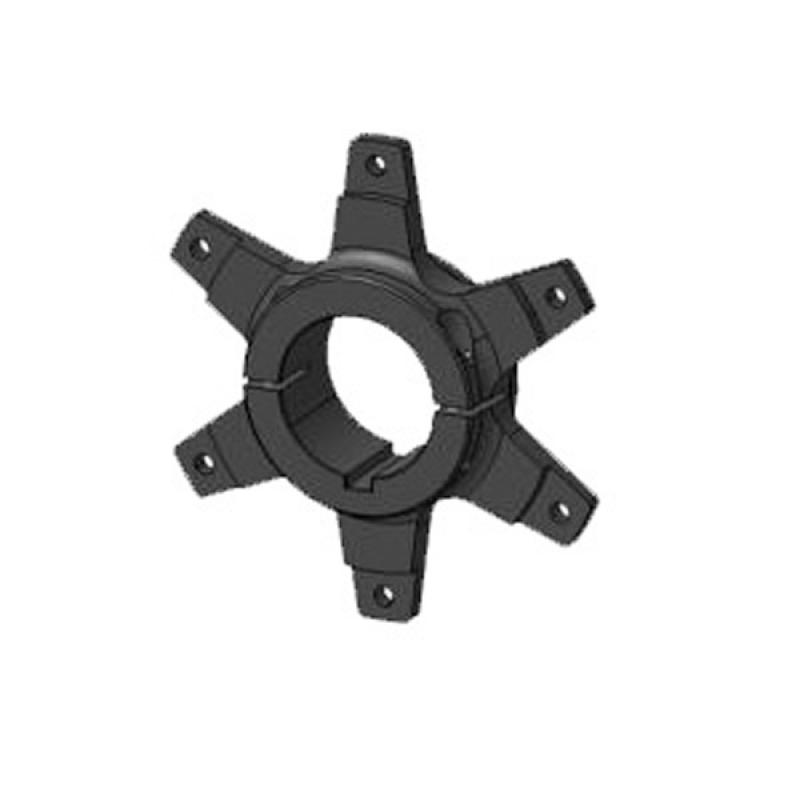 SPROCKET SUPPORT FOR Ø50MM AXLE with screws BLACK LINE 2017